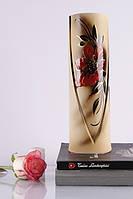 Стильная прямая ваза