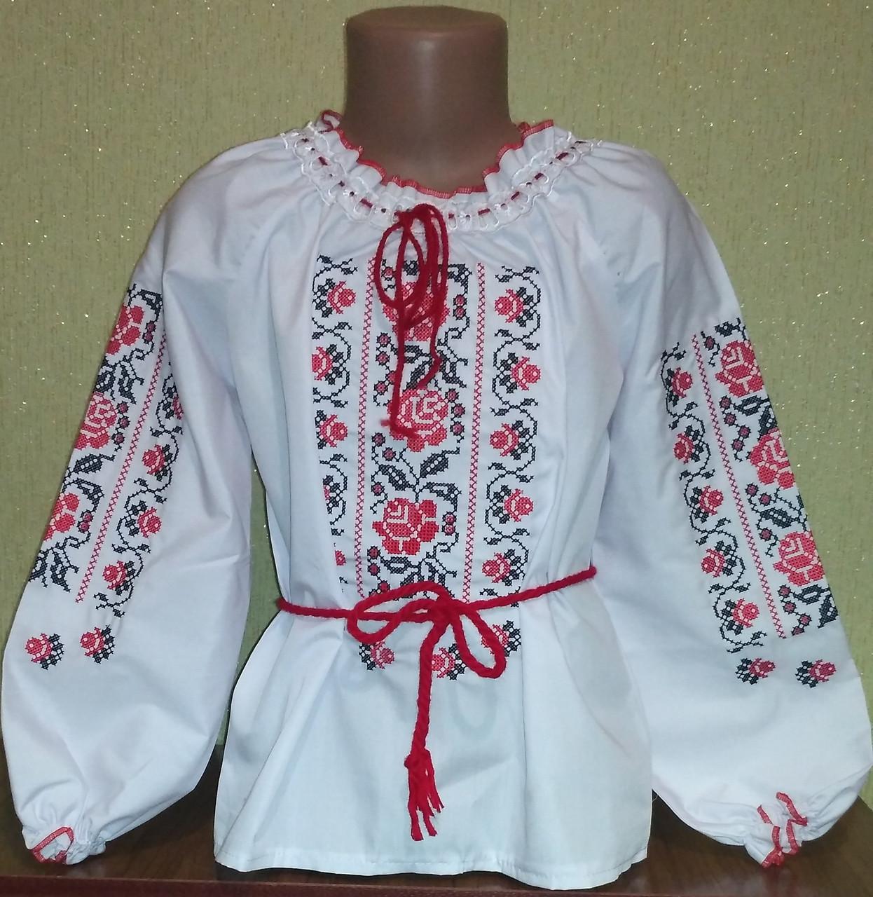 """Вышиванка для девочки  - Интернет -магазин """" Модный  Позитив""""  в Хмельницком"""