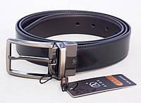 Мужской кожаный двухсторонний ремень ALON, фото 1