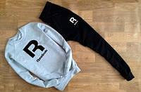 Спортивный костюм Reebok(черно-белый)