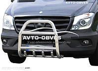 Защита переднего бампера Mercedes-Benz Sprinter (п.к. RR04)