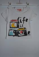 Модная футболка Италия Best Band 9 месяцев.