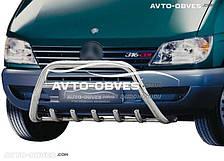 Защитный кенгурятник для Mercedes Sprinter без логотипа