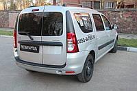 Защитная накладка заднего бампера Lada (ВАЗ) Largus 2012+