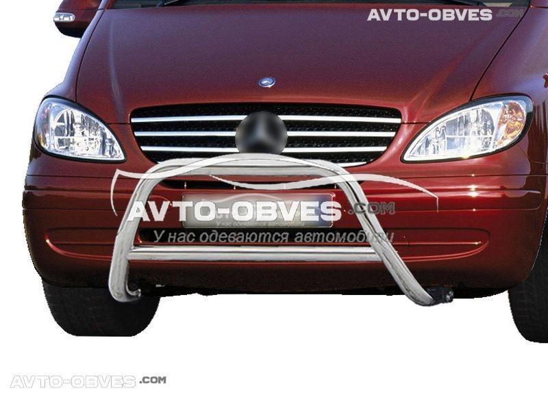 Кенгурятник для Mercedes Vito \ Viano вир. код RR006