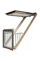 FAKRO FGH-V P2 Galeria Мансардное окно-балкон без оклада  (78*225)