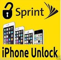 Официальная разблокировка Sprint USA iPhone 5c 5s 6 6+ 6s 6s+ 7 7 Plus SE Clean IMEI