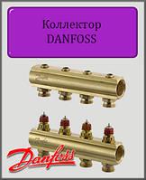 Коллектор Danfoss FHF на двенадцать выходов без расходомеров