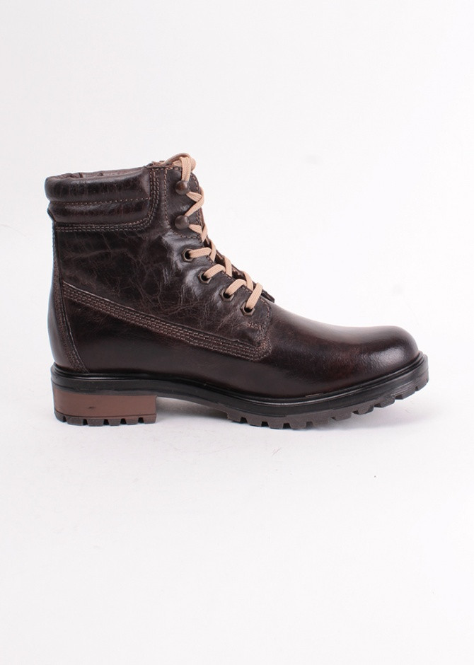 Тёплые кожаные женские ботинки S&G р-38 стелька 25 см