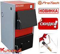 Твердотопливный котел ProTech (Протек, Протех, Протеч) ТТ-cD Luxe