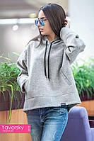 Женское пальто ЭММА цвет светло серый