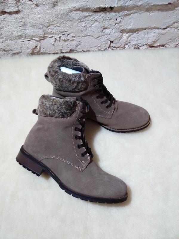 Фирменные женские ботинки