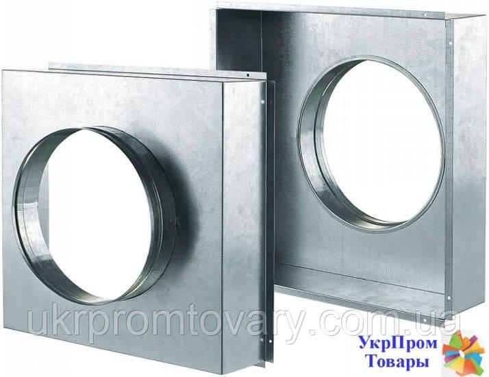 Адаптер A (100х100), вентиляторы, вентиляционное оборудование