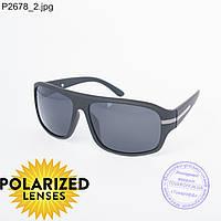 Черные мужские поляризационные очки - 2678