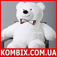 Плюшевый мишка, медведь 110 см - белый