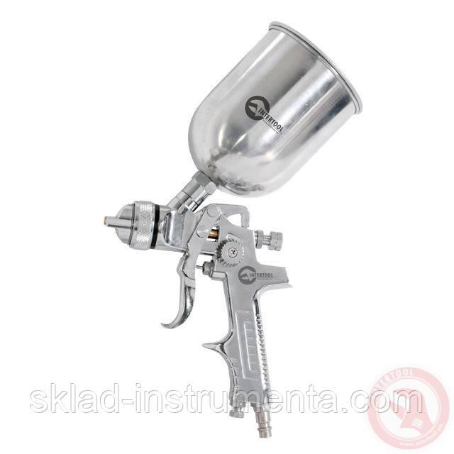 HVLP STEEL PROF Краскораспылитель 1,4 мм, верхний металлический бачок 600 мл.