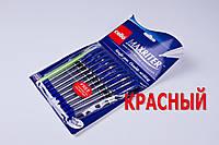 Ручки шариковые Cello Maxriter 4 km,красные,0.5 mm,10+1шт/упаковка, фото 1