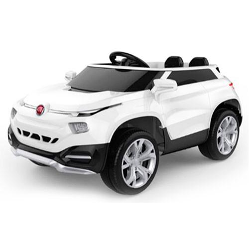 Детский электромобиль  M 3292 EBLR-1: 2.4G, 70W, EVA, кожа, FIAT - Белый -купить оптом