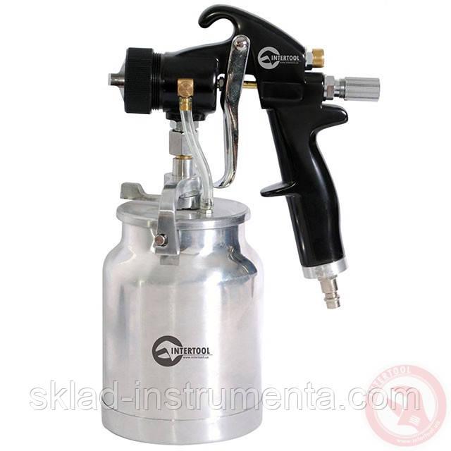 HVLP BLACK PROF Краскораспылитель 1,5 мм, нижний металлический бачок регулируемой подачей давления