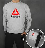 Спортивный костюм Reebok(темно-белый)