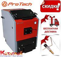 Твердотопливный котел ProTech (Протек, Протех, Протеч) ТТ Eko Long+ с чугунными колосниками