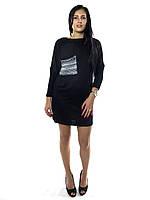 10842 Туника-платье черный