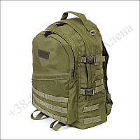 Тактический рюкзак 40 литров олива для военных, рыбалки, туризма нейлон