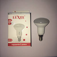 LED ЛЕД светодиодная лампа для потолка LUXEL R50 Р50 5W 5вт Е14 4000К
