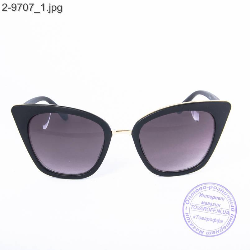 Женские солнцезащитные очки - черные - 2-9707, фото 2