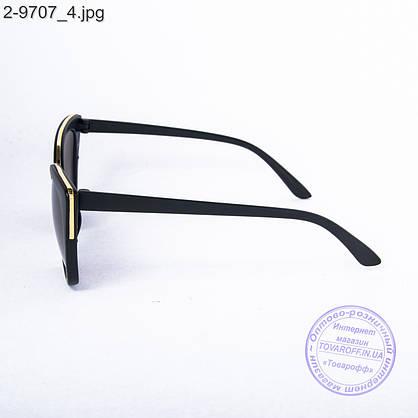 Женские солнцезащитные очки - черные - 2-9707, фото 3
