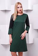Молодежное  горчичное  платье   Margo FashionUp 42-48  размеры