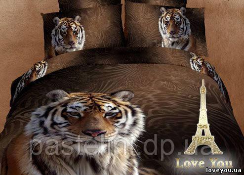 Love you  семейный комплект постельного белья Мачо