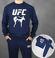 Спортивный костюм UFC(темно-синий), Реплика