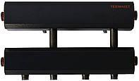 Коллектор распределительный К22Н.125(200) в теплоизоляции на 2 контура вниз и 1 вбок (СК-242.125)