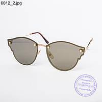 Женские солнцезащитные очки коричневые - 6012, фото 1