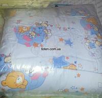 Защита для детской кроватки Пчёлки