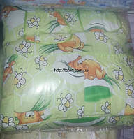 Защита для детской кроватки Мишки Салатовая