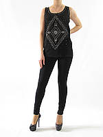 1251 Блуза черный
