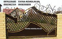 Кованый забор (2550 ).