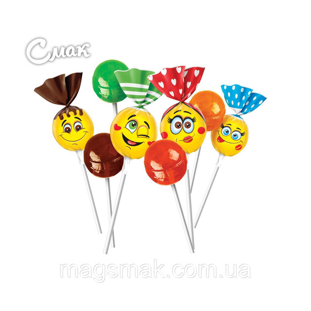 Конфеты Lolli pops с коктейльными вкусами / Лоли Попс, Рошен