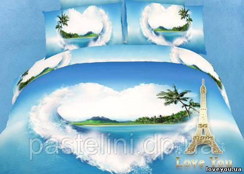 Love you  семейный комплект постельного белья Мечта