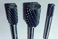 Борфреза, тип В (цилиндр с торцевыми зубьями),  ф 12,0х25х6мм
