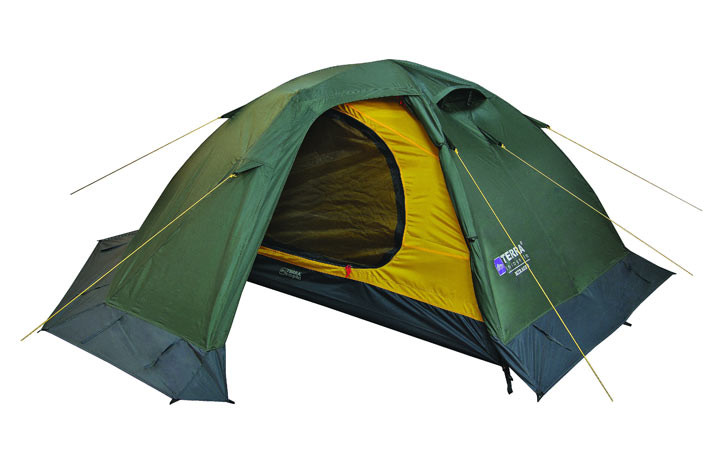 """Палатка туристическая Терра Инкогнита  """"MIRAGE 2 ALU"""", цвет зеленый"""
