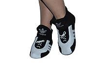 """Флисовые тапочки """"Adidas"""" (детские, размер 18-32)"""
