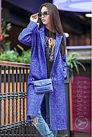 """Пальто женское модное демисезонное на кнопках полушерсть 8 цветов """"Эстель"""" GY84"""