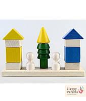 Детская пирамидка «Соседи»