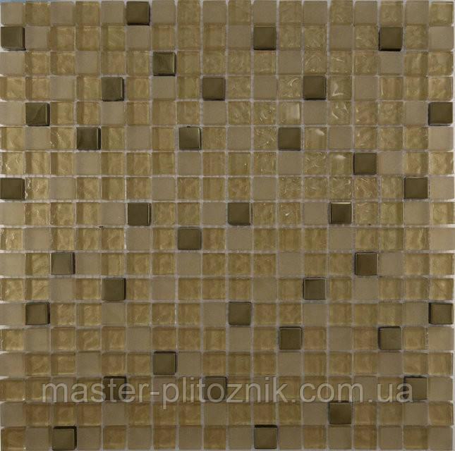 Мозайка микс металик-золото