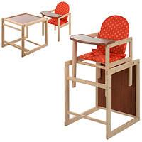 Кресло для кормления + парта трансформер Vivast Малыш