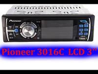 Автомагнитола Pioneer 3016 для хорошее звука. Хорошее качество. Яркий дизайн. Купить в интернете. Код: КДН1501