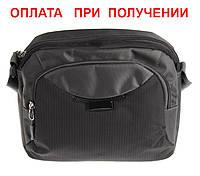 Мужская тканевая не большая стильная сумка барсетка рюкзак через плечо SHEN NEW!